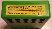 84443 Redding 3-Die Full Length/Neck Die Set 6mm Creedmoor