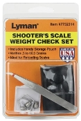 7752314 Lyman Scale Weight Check Shooter's Set