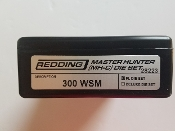 28223 Redding Master Hunter Die Set 300 WSM