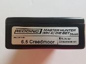 28446 Redding Master Hunter Die Set 6.5 Creedmoor
