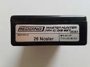 28261 Redding Master Hunter Die Set 26 Nosler