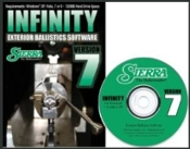 0701 Sierra INFINITY VERSION 7 EXTERIOR BALLISTIC SOFTWARE (CD)