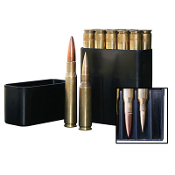 BMG10-40 MTM 50 BMG Slip-Top Ammo Box Black