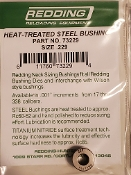 73229 Redding Heat Treated Steel .229 Neck Size Bushing