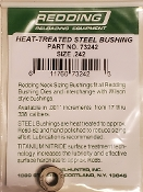 73242 Redding Heat Treated Steel .242 Neck Size Bushing