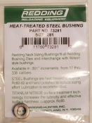 73281 Redding Heat Treated Steel .281 Neck Size Bushing