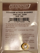76299 Redding Titanium Nitride .299 Neck Size Bushing