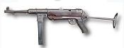 German MP-38 & MP-40 9mm Sub Machine Gun