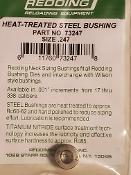 73247 Redding Heat Treated Steel .247 Neck Size Bushing